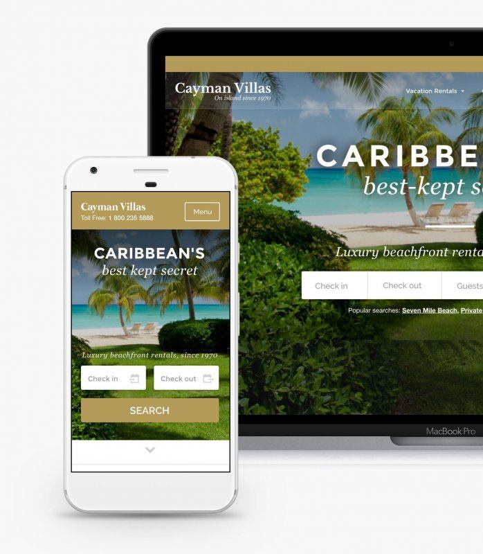 Cayman villas responsive
